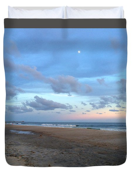 Duvet Cover featuring the photograph I Will Return by Shelia Kempf