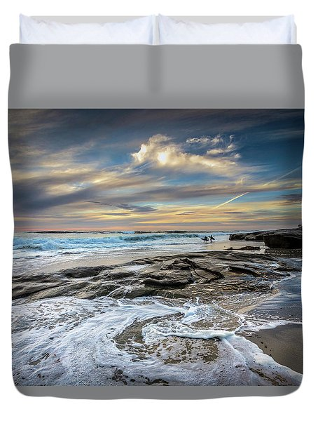 I Wish Duvet Cover by Peter Tellone