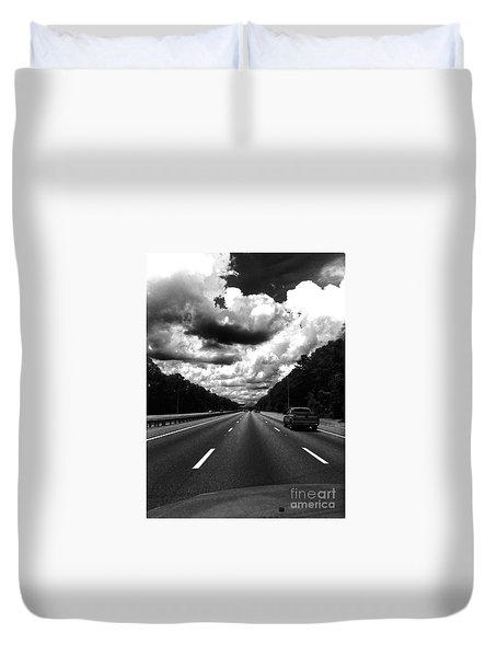 I95 Clouds Duvet Cover