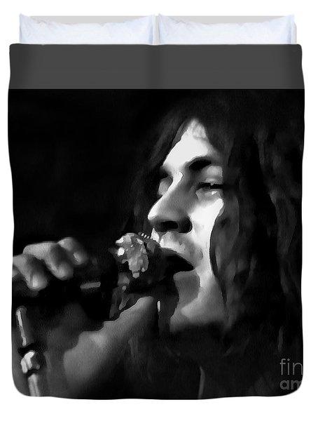 Ian Gillan Duvet Cover