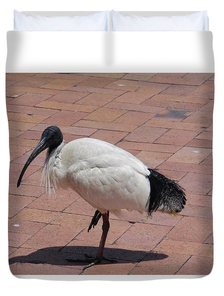 Ibis Bird Duvet Cover