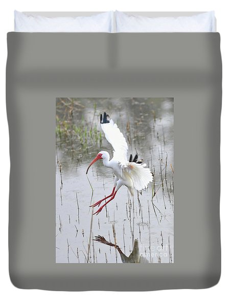 Ibis Soft Water Landing Duvet Cover