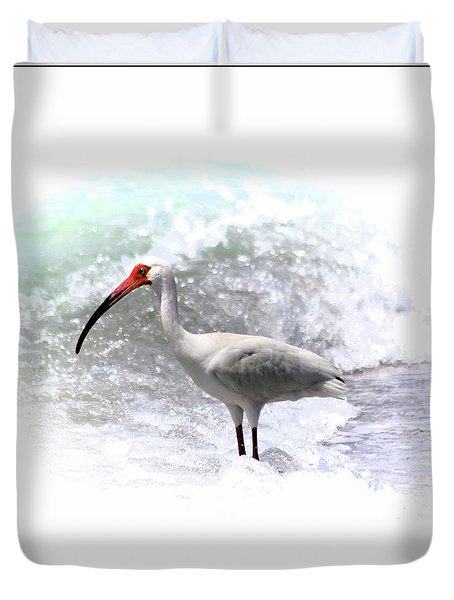 Ibis Surf Duvet Cover