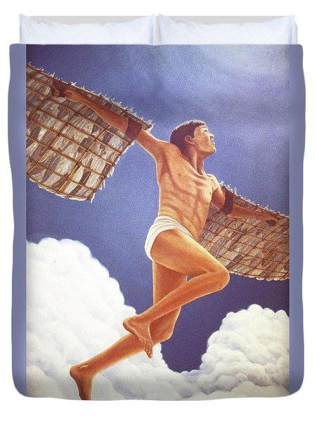 Icarus Ascending Duvet Cover