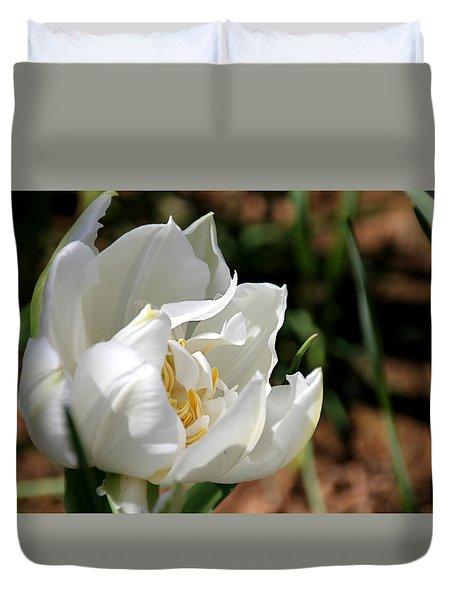 Ice Age Tulip Duvet Cover