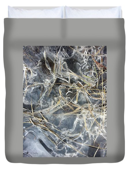 Ice Art II Duvet Cover by Joanne Smoley