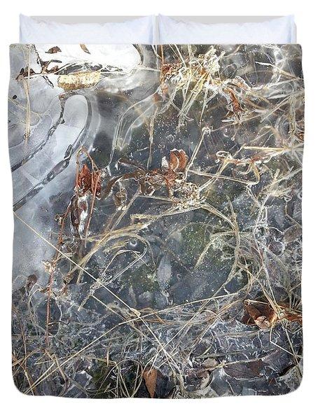 Ice Art Iv Duvet Cover