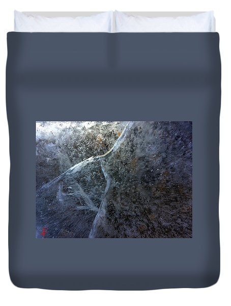 Duvet Cover featuring the photograph Ice Cold  by Colette V Hera Guggenheim