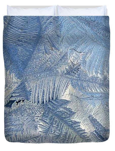 Ice Crystals Duvet Cover