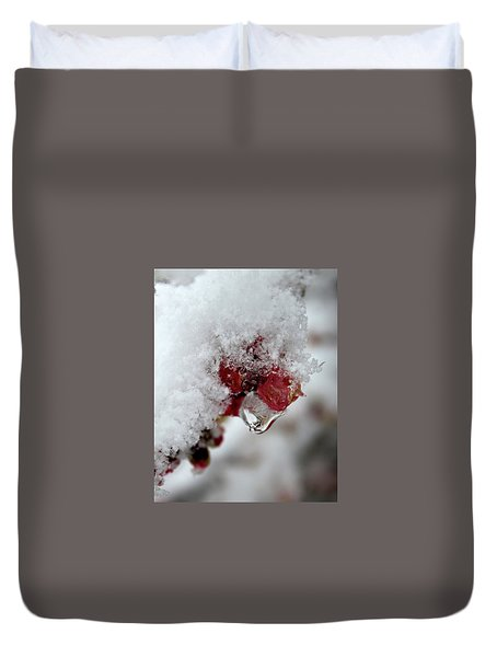Ice Drip Duvet Cover