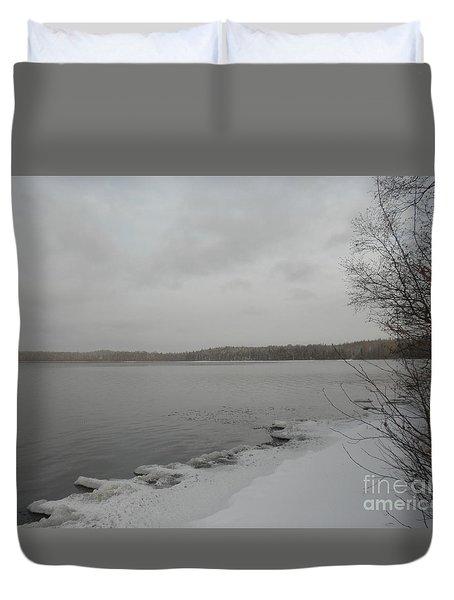 Ice Edge Duvet Cover