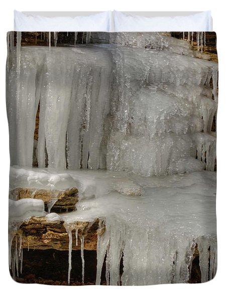 Ice Flow Duvet Cover