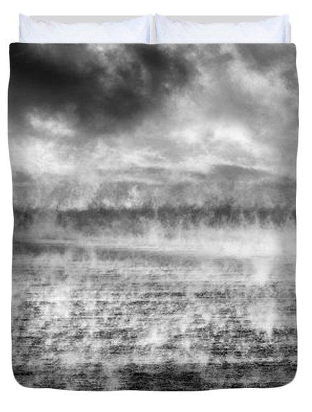 Ice Fog  Duvet Cover