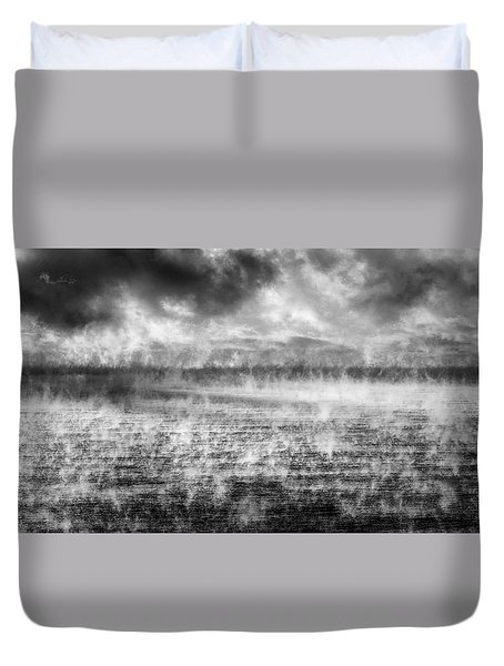 Ice Fog  Duvet Cover