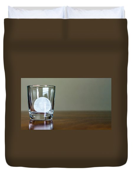 Ice For Whisky Or Cocktail Duvet Cover