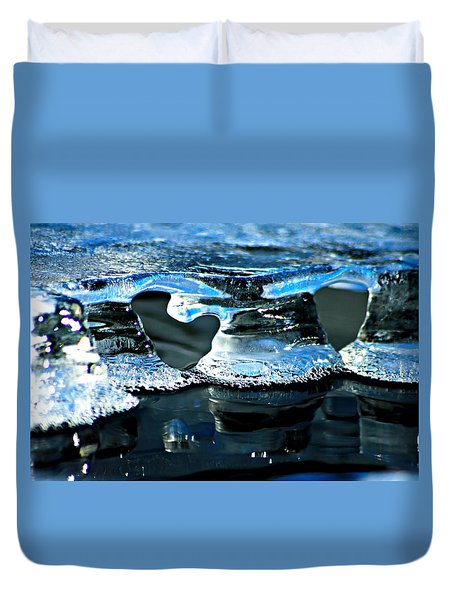 Ice Formation 10 Duvet Cover