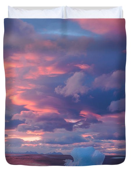 Ice Ignites Duvet Cover