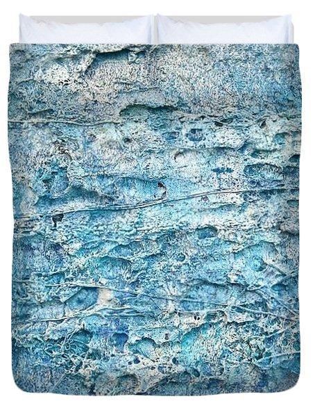 Ice Melt  # 22617 Duvet Cover