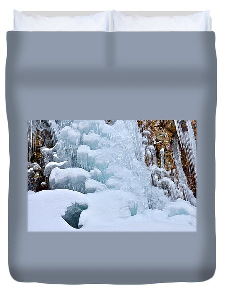 Ice Mosaic Duvet Cover