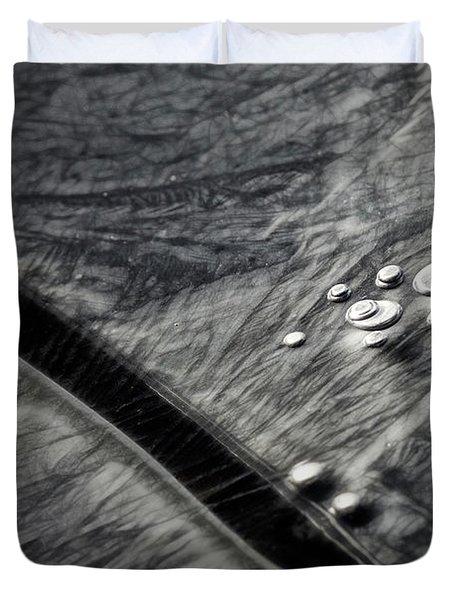 Ice Patterns I Duvet Cover
