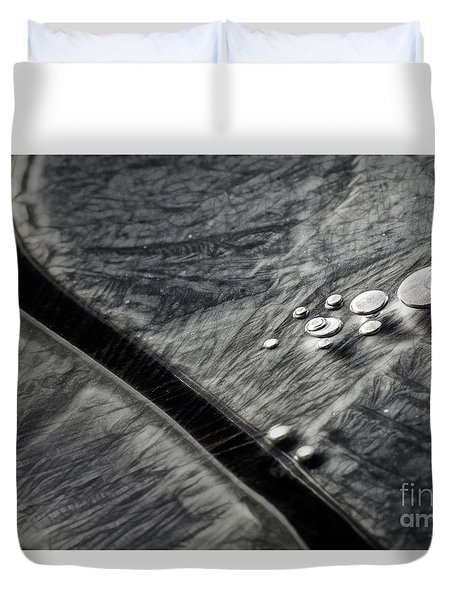 Ice Patterns I Duvet Cover