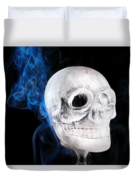 Ice Skulpture Duvet Cover