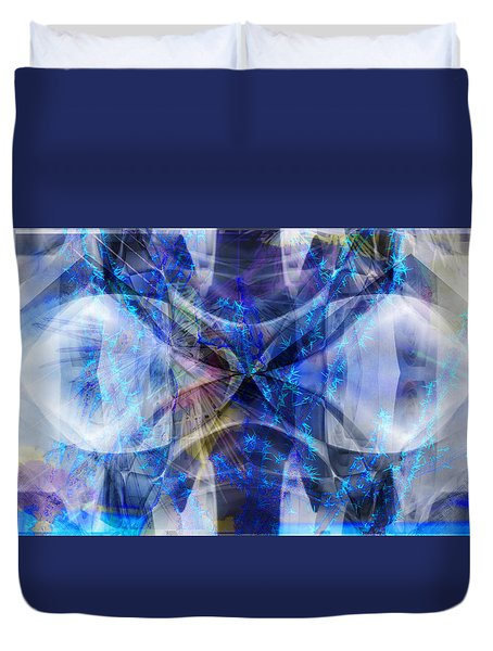 Ice Structure Duvet Cover
