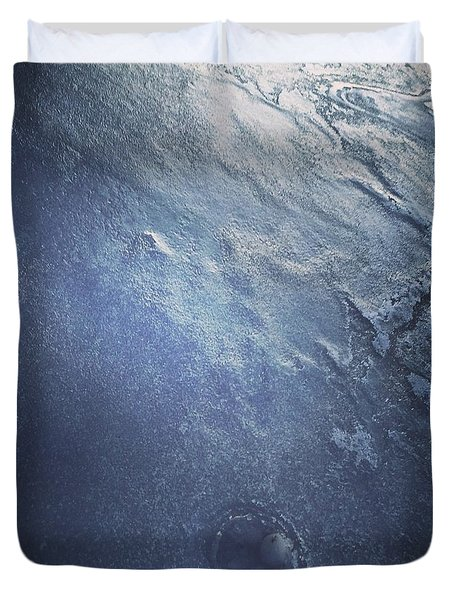 Ice Texture Duvet Cover