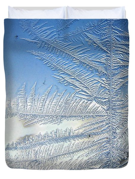 Ice Tree Duvet Cover