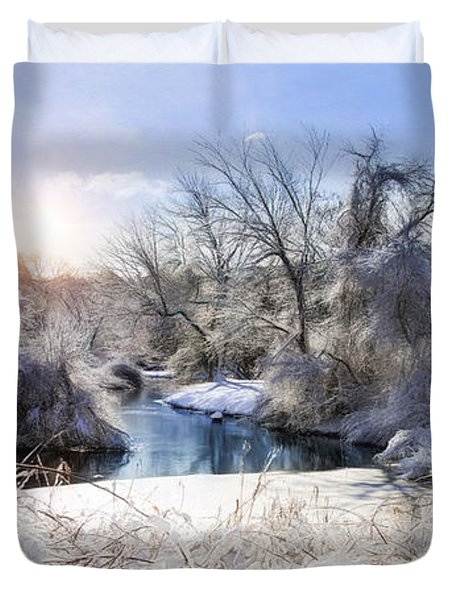 Ice Water II Duvet Cover