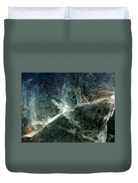 Ice Winter Denmark Duvet Cover