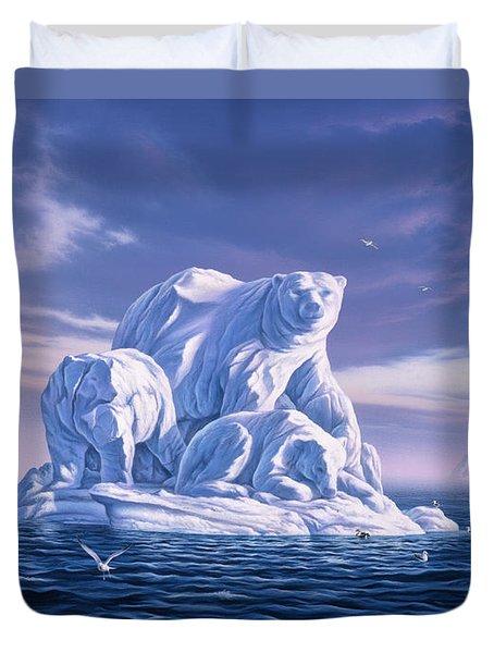 Icebeargs Duvet Cover