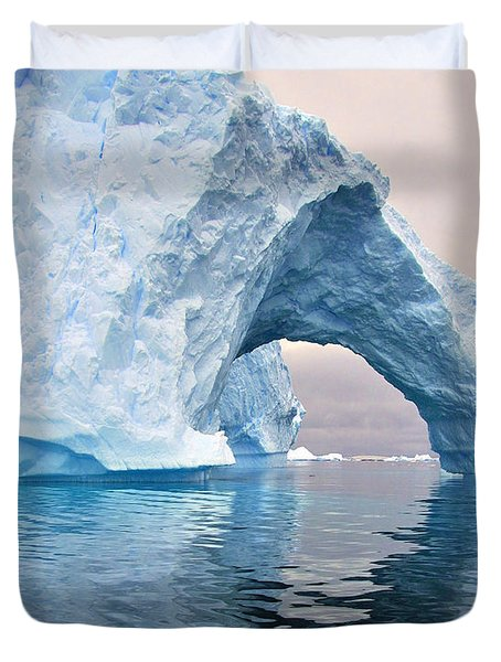 Iceberg Alley Duvet Cover