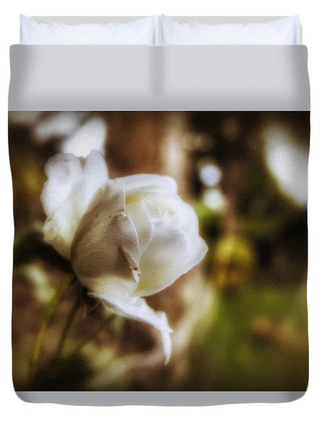 Iceberg Rose Duvet Cover