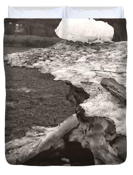 Iceberg Silo Duvet Cover