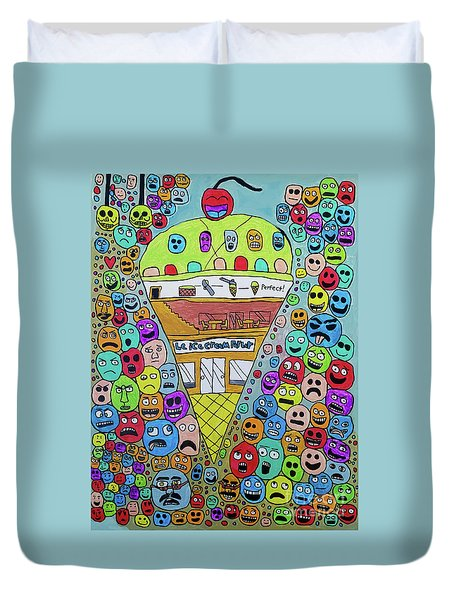 Icecream Parlor Duvet Cover