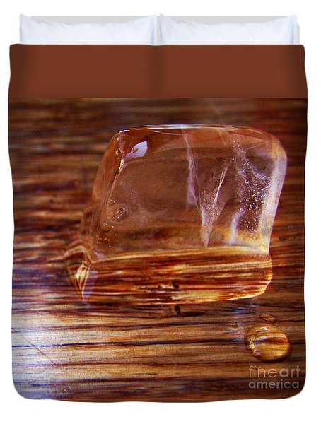 Icecube Trail Duvet Cover