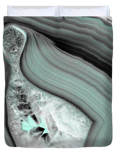 Iced Agate Duvet Cover