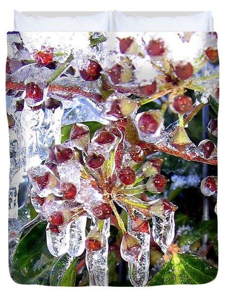 Iced Ivy Duvet Cover