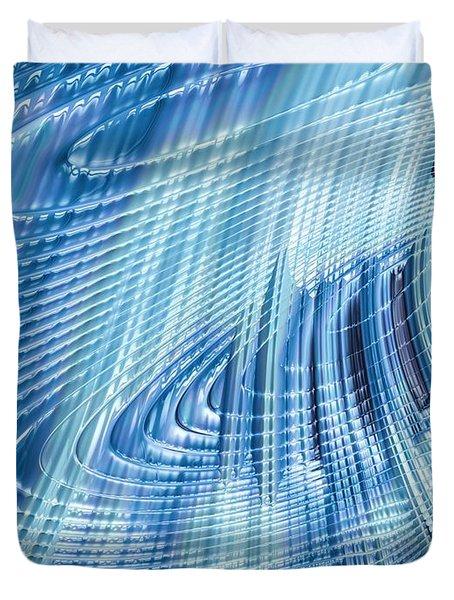 Icefall Duvet Cover