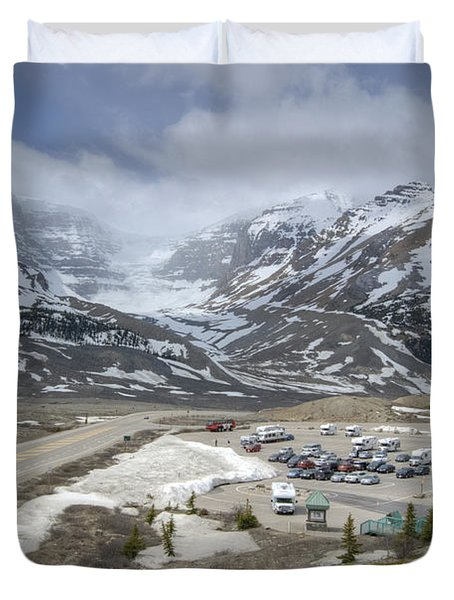Icefields Parkway Highway 93 Duvet Cover