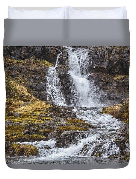 Iceland Fjord 2 Duvet Cover