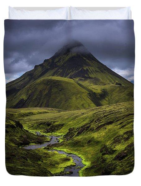 Icelandic Highlands Duvet Cover