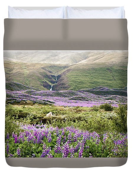 Icelandic Treasures Duvet Cover