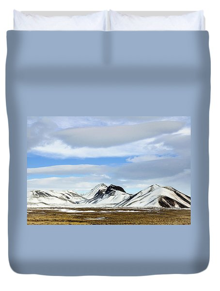 Icelandic Wilderness Duvet Cover