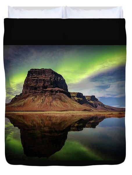 Icelanding Aurora Duvet Cover
