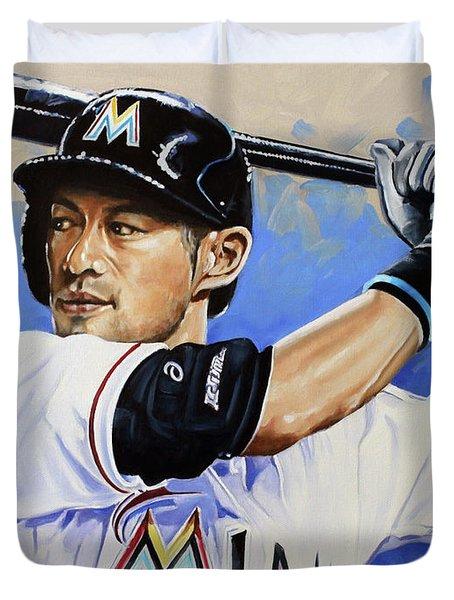 Ichiro Duvet Cover