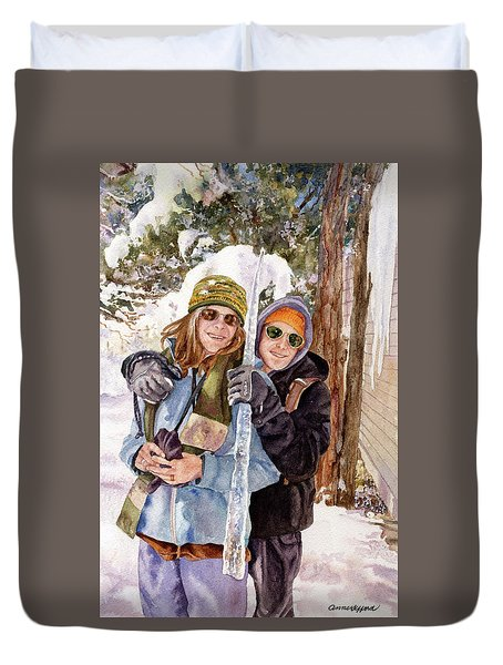 Icicle Duvet Cover