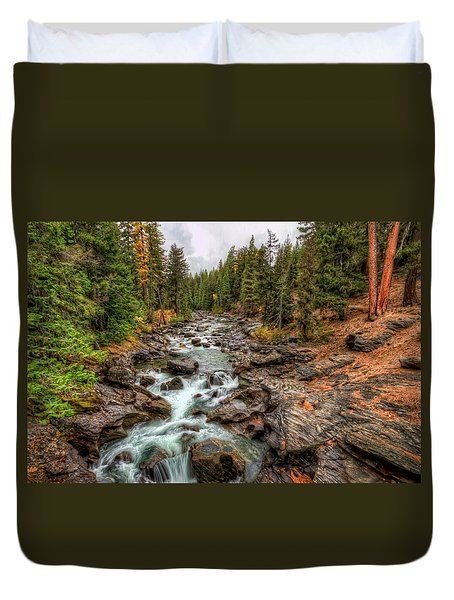 Icicle Gorge 2 Duvet Cover