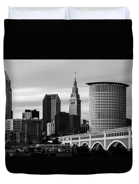 Iconic Cleveland Duvet Cover